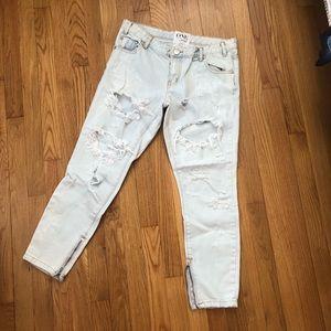 Brand new One teaspoon boyfriend jeans